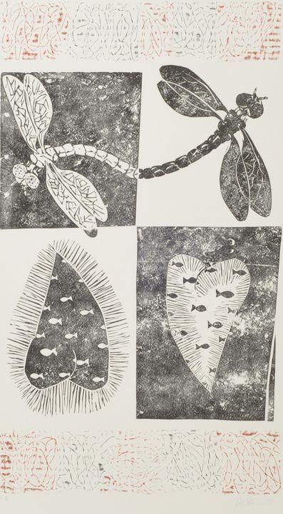 Westermann, Gerd, Farblithografie / Westermann, Gerd, colour lithograph