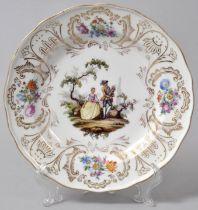 Teller, Meissen / Plate, Meissen