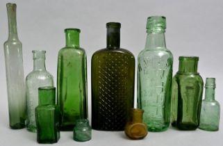 Konvolut von zehn Flaschen / Set of ten bottles