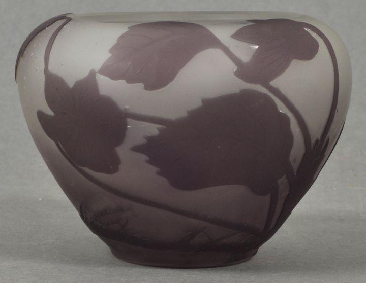 kl. Vase Gallé / Gallé vase