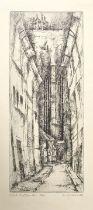 Dresdener Grafiker, 2 Bll. / Two etchings