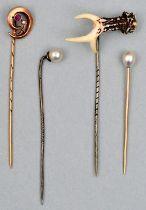 Bindernadeln / tie pins