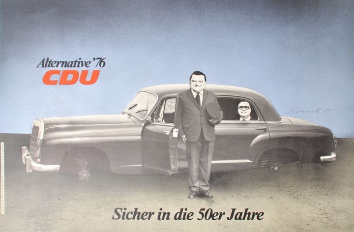 Staeck, Klaus, 4 Plakate / Steack, Klaus, Four posters