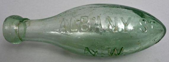 Torpedo-Flasche/Hamilton bottle