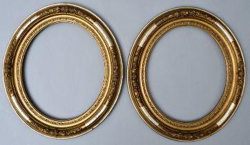 Paar ovale Rahmen / oval frames