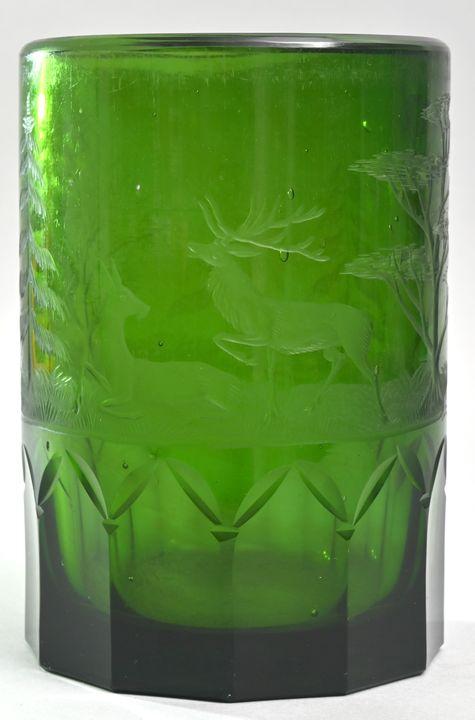 Glasvase / Glass vase