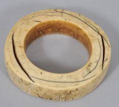 Oberarmreif, Elfenbein / bracelet ivroy