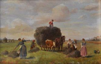 Müller-Cornelius, Landschaftsgemälde / landscape