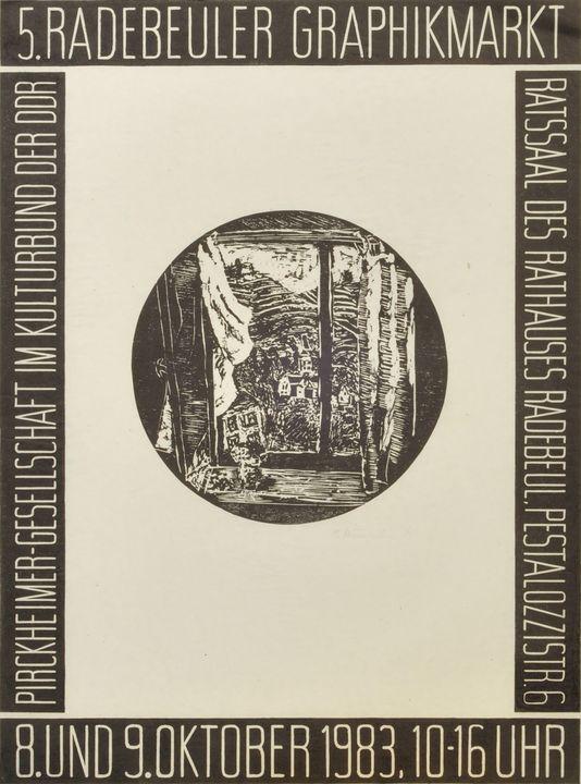 Bärbel Kuntsche, Litho / Bärbel Kuntsche lithograph