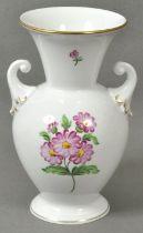 Vase bunte Blume Herend / Vase
