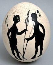 Straußenei / egg