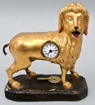 Figurenuhr Pudel / Figure clock