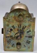 Eiserne Wanduhr/ iron wall clock