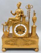Pendule Empire/ mantel clock