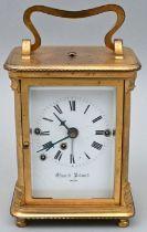 Reiseuhr Rpt., Eduard Roland, Wien / Travel clock