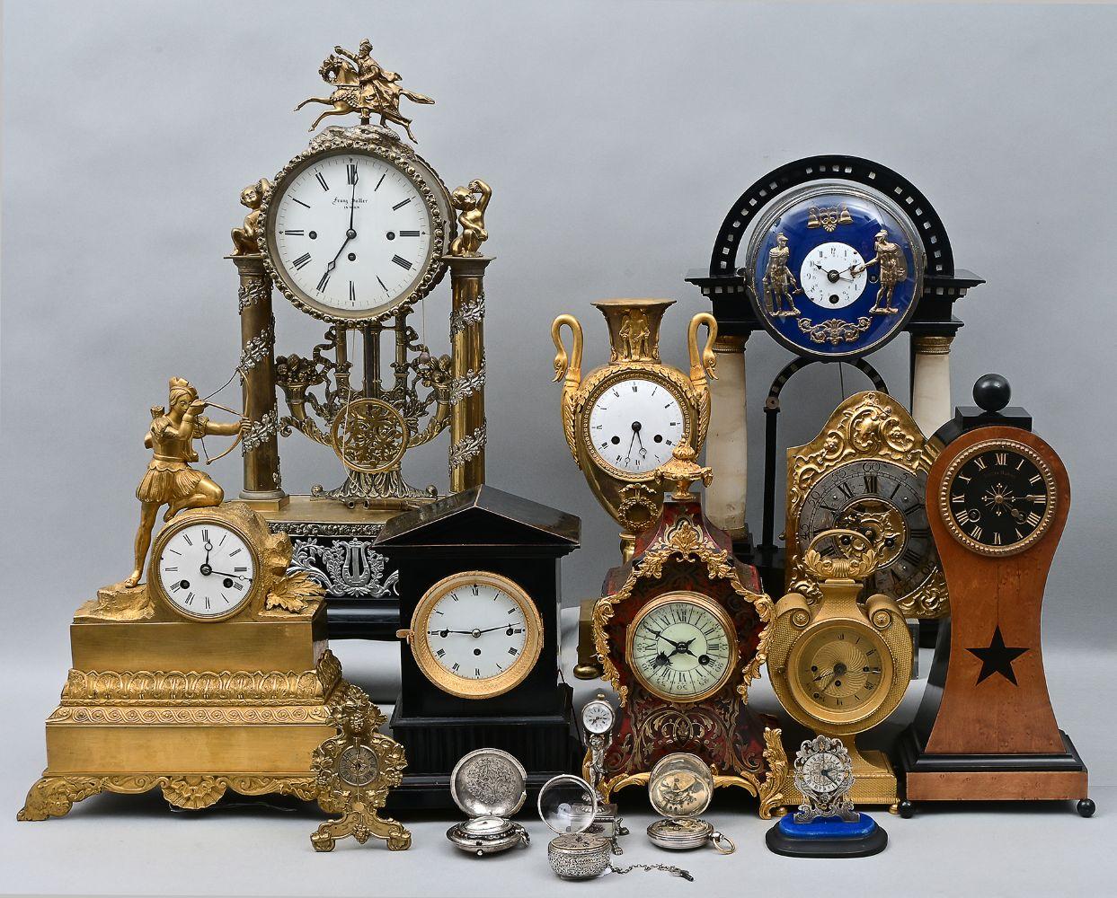 158 Grosse Uhren- und Kunstauktion