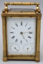 Reiseuhr E. Foecke Wien / Travel clock