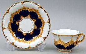Tasse mit Untertasse, Meissen / Cup with saucer, Meissen