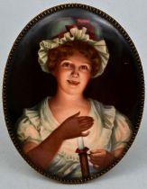 Porzellanbild KPM/ porcelain painting