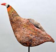 Keramik-Vogel / Bird sculpture