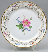 Platte, Meissen / Plate, Meissen