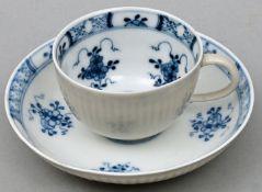 Tasse + UTA / Cup with saucer, Meissen