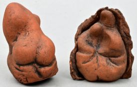 Wanitschke, Vinzenz, zwei kleine Tonfiguren / Two small figures