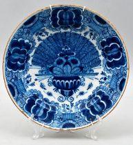 Fayenceteller, Delft / faience plate Delft