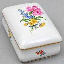 Zigarettendose, Meissen / cigarette box, Meissen