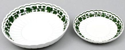 Zwei Schalen, Meissen, WL / Two bowls, Meissen