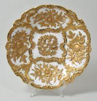 Reich verzierte Schale, Meissen/Richly decorated bowl