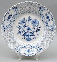 Durchbruchschale, Meissen / bowl with perforated design