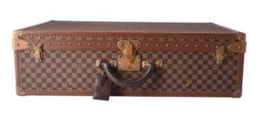 Louis Vuitton, Damier, a hard shell suitcase