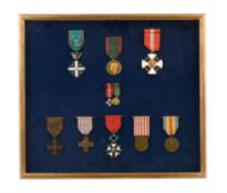 Italian, French and Belgian medals