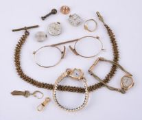 A collection of items for spares or repairs purposes