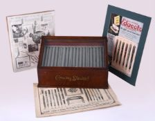 An early 20th century Conway Stewart display case