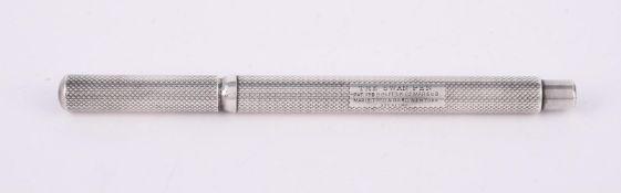 Mabie Todd & Bard, The Swan Pen silver fountain pen, circa 1905