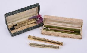 Wahl-Eversharp, a small rolled gold fountain pen, circa 1930