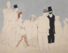 David Schneuer (Israeli 1905-1988) , Circus Time