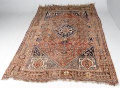 A Kashgai rug