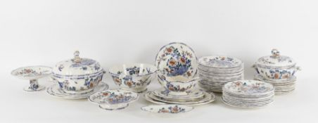 An early 20th century French pottery dinner service