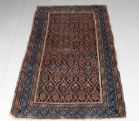 Three rugs including an antique Caucasian Kuba small rug