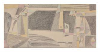λ Vaclav Tikal (Czech 1906-1965), Mesto, 1951