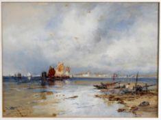 Thomas Bush Hardy (1842-1897), On The Lagoons
