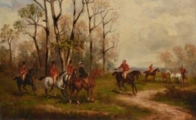 R St**** (19th century), Preparing for the hunt