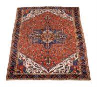An Heriz carpet