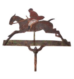 A weather vane
