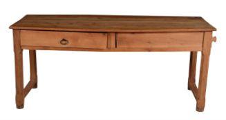 A French chestnut farmhouse table