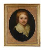 Follower of Thomas Gainsborough, Portrait of a boy