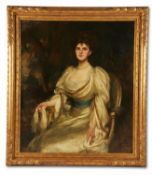 JAMES JEBUSA SHANNON (BRITISH/AMERICAN 1862-1923), MRS GEORGE HARLAND-PECK